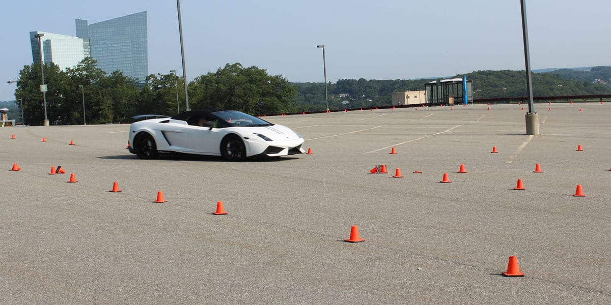 Drive 1 Exotics Autocross Driving Experience