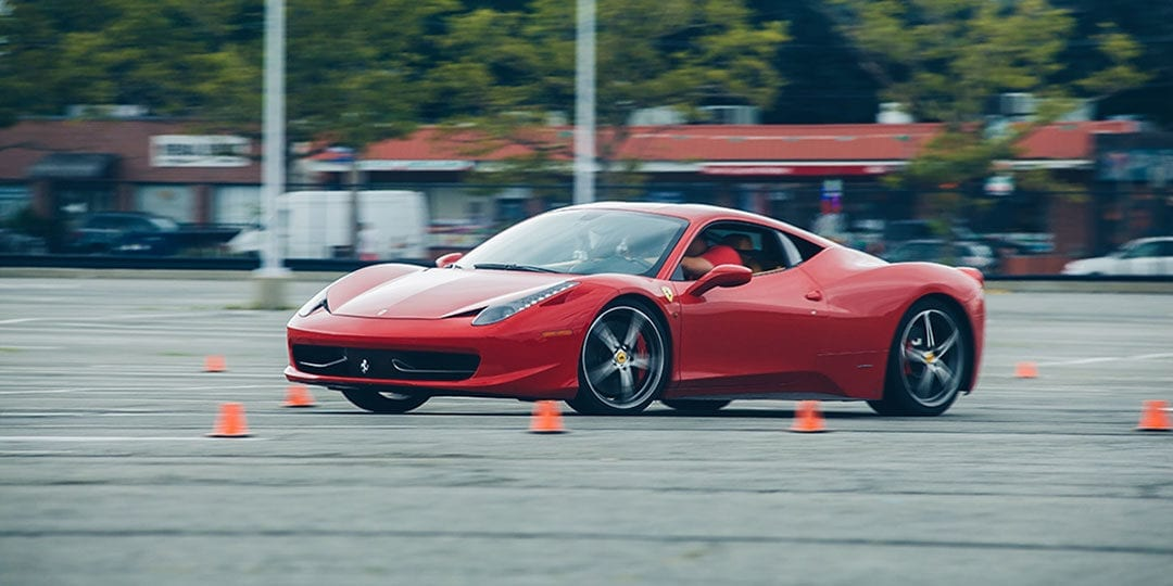Get Behind The Wheel of an Exotic Car for $99 at New Jersey Motorsports Park on March 10th!