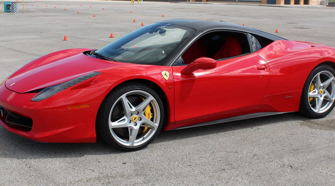 Drive a Lamborghini, Ferrari or McLaren on an Autocross Course at Orlando Speedway on July 30th for only $99!