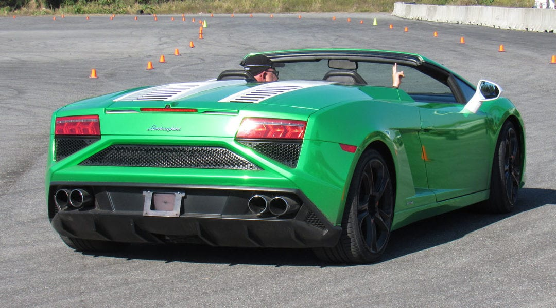 Get Behind The Wheel of an Exotic Car for $99 at Dover Int'l Speedway on October 14th!