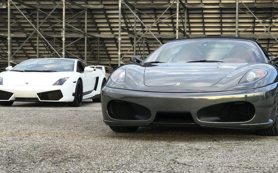 Get Behind The Wheel of an Exotic Car for $99 at Tampa Greyhound Park on December 3rd!