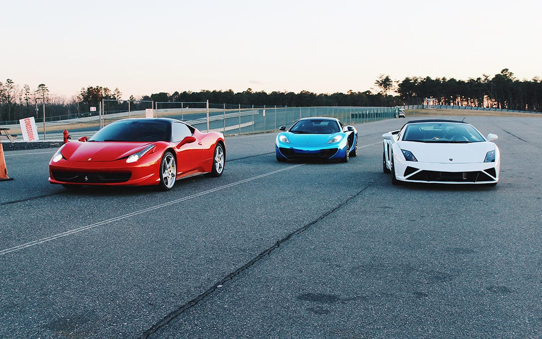 Get Behind The Wheel of an Exotic Car at Charlotte Motor Speedway Zmax Dragway on January 24th!