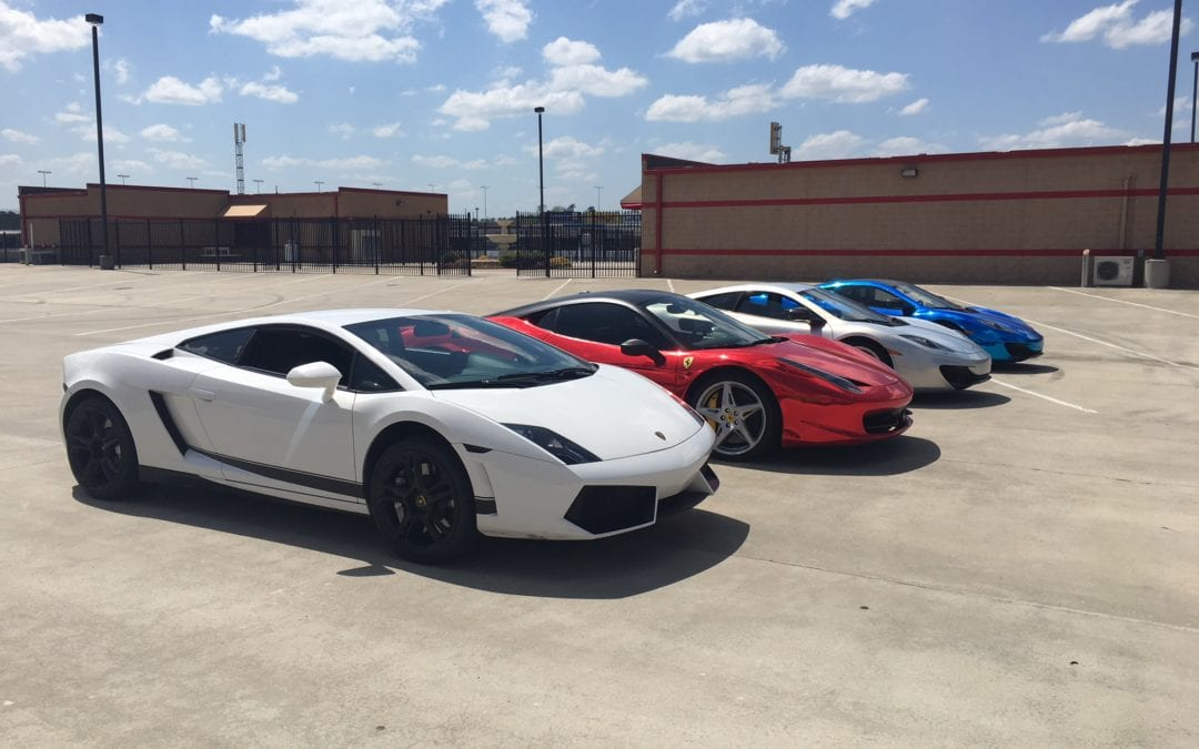 Get Behind The Wheel of an Exotic Car at Coca-Cola Park!