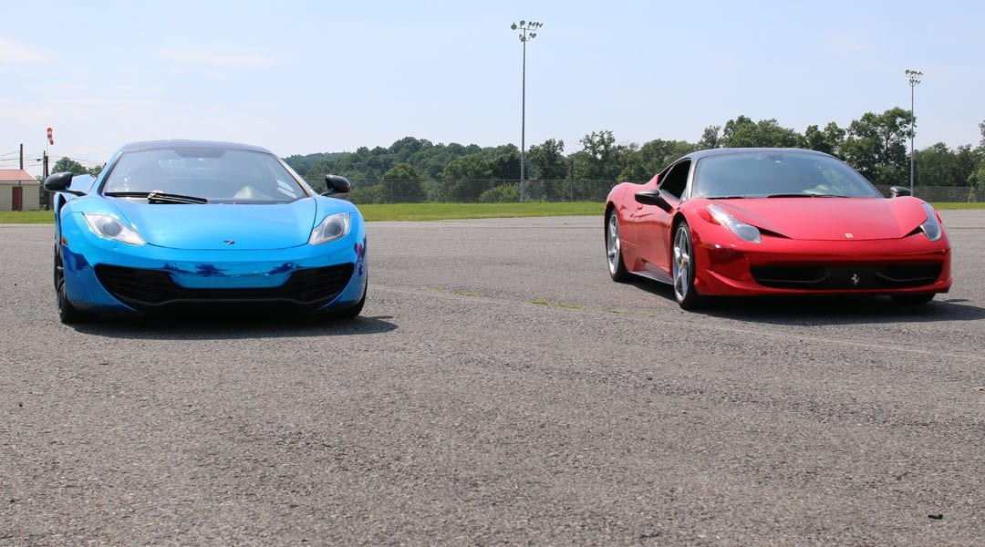 Get Behind The Wheel of an Exotic Car for $99 at Kentucky Speedway on October 5th & 6th!