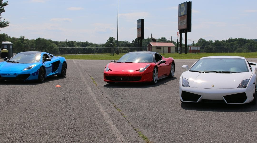 Get Behind The Wheel of an Exotic Car for $99 at Green Acres Mall on September 8th!
