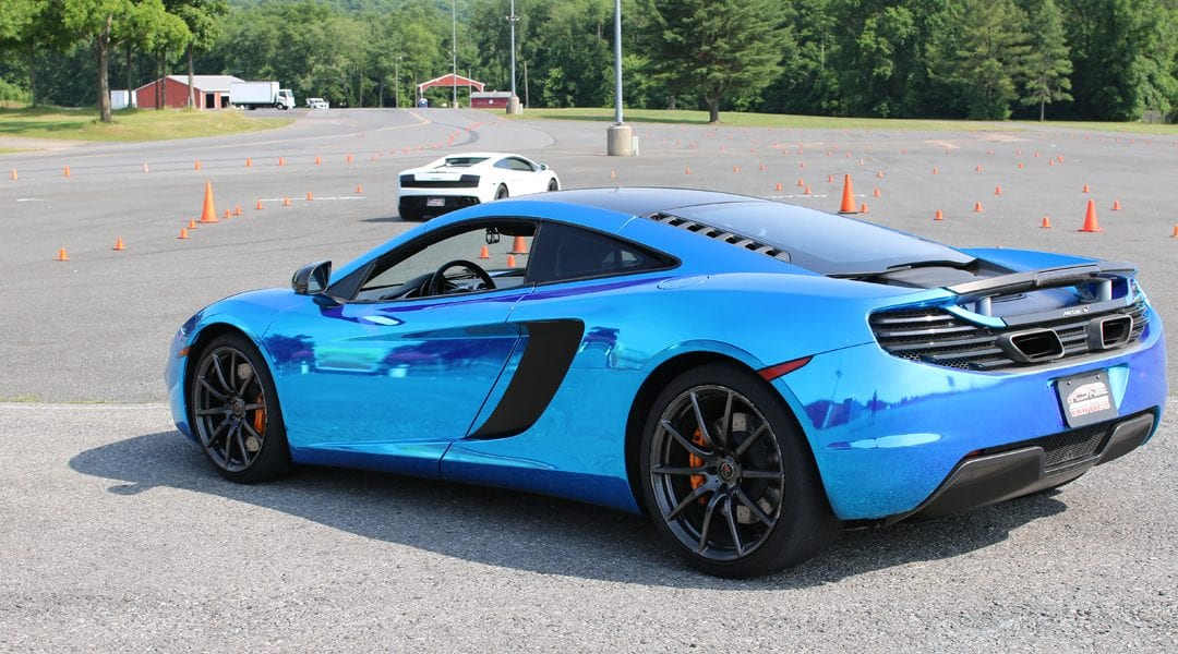 Get Behind The Wheel of an Exotic Car for $99 at Military Circle Mall on April 28th!