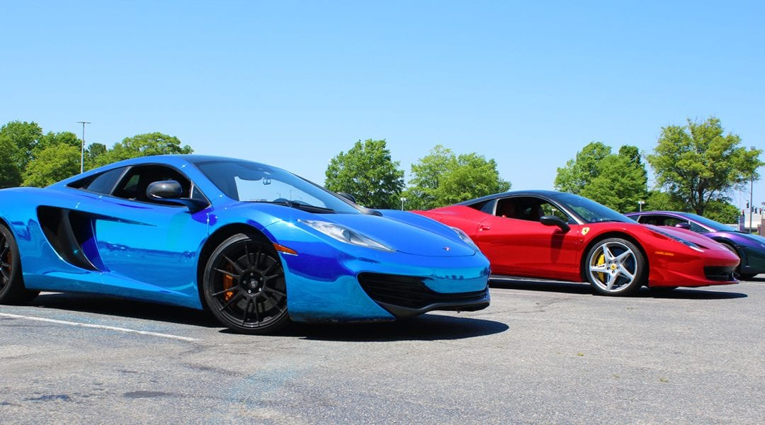 Get Behind The Wheel of an Exotic Car for $99 at Wilton Mall on August 18th!