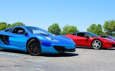 Get Behind The Wheel of an Exotic Car for $99 at Maple Grove Raceway on September 22nd!